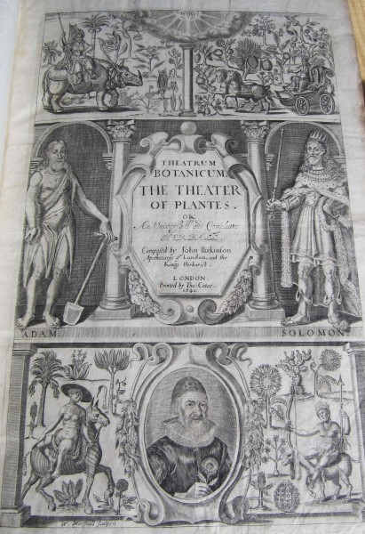 The Theater of Plantes book